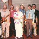 Franz with Judi K, Jim Beebe and Others Circa 1990's