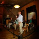 "Tom Bartlett sings one of Franz's favorite tunes,""How Long Blues"""