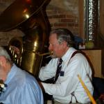 Mike Walbridge does a number on the tuba